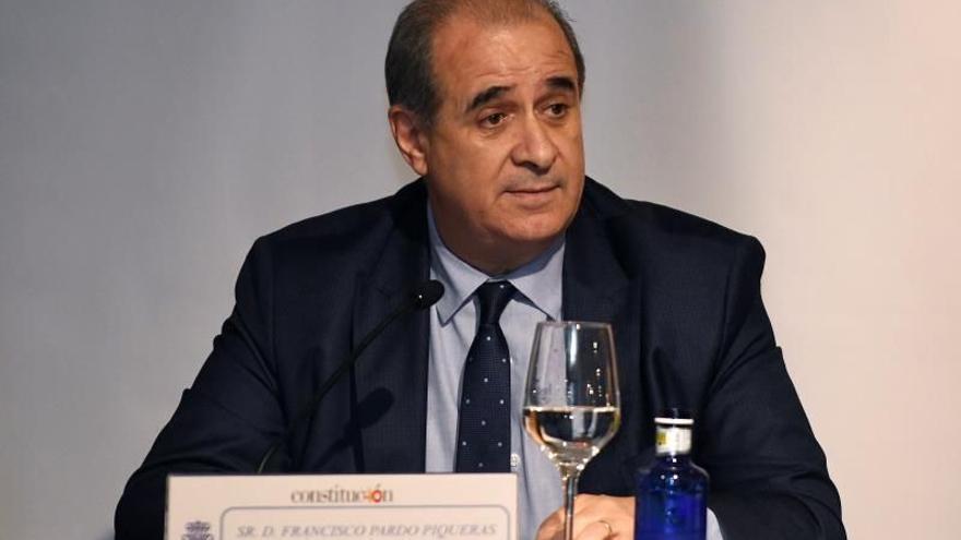 El director general de la Policía, Francisco Pardo.