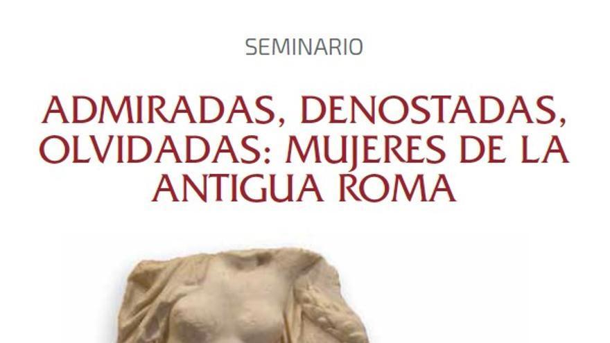 Seminario sobre el papel de las mujeres en la antigua Roma