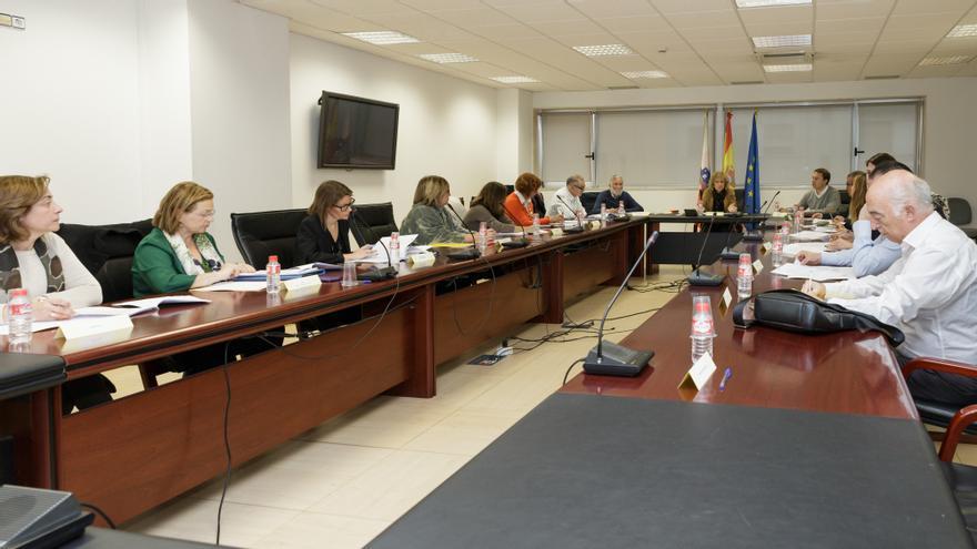 La vicepresidenta ha presentado el borrador del Plan a los grupos parlamentarios y a las organizaciones sociales. | Raul Lucio