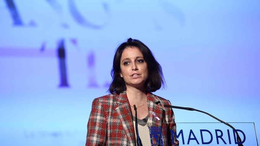 La delegada del área de Cultura, Turismo y Deporte, Andrea Levy, en un acto institucional.