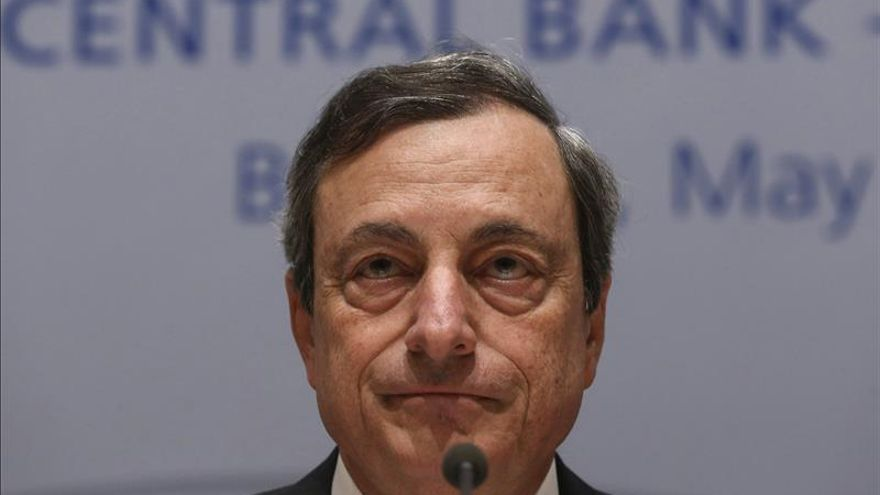 El ya expresidente del Banco Central Europeo (BCE), Mario Draghi.