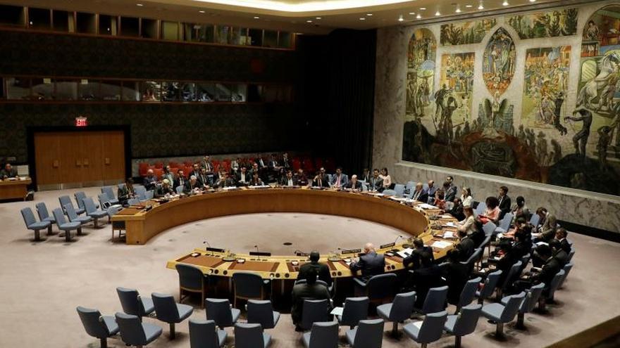 Vista del Consejo de Seguridad de la ONU en Nueva York (EE.UU.).