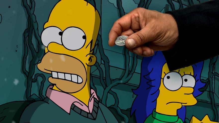 Las 9 series de la semana ofrecen '30 monedas' malditas a Kaley Cuoco y se ríen con 'Los Simpson'