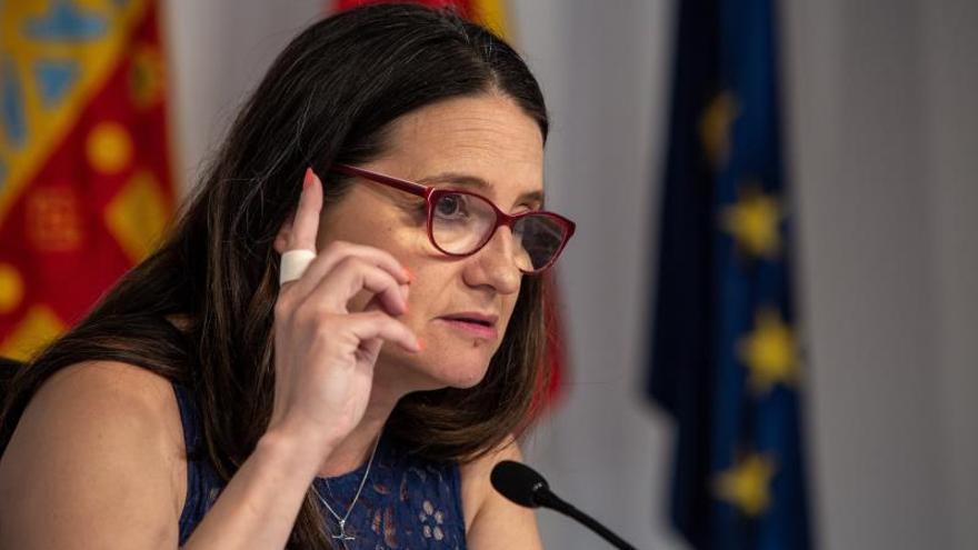Oltra: No queremos dar lecciones a nadie, pero la fórmula valenciana funciona