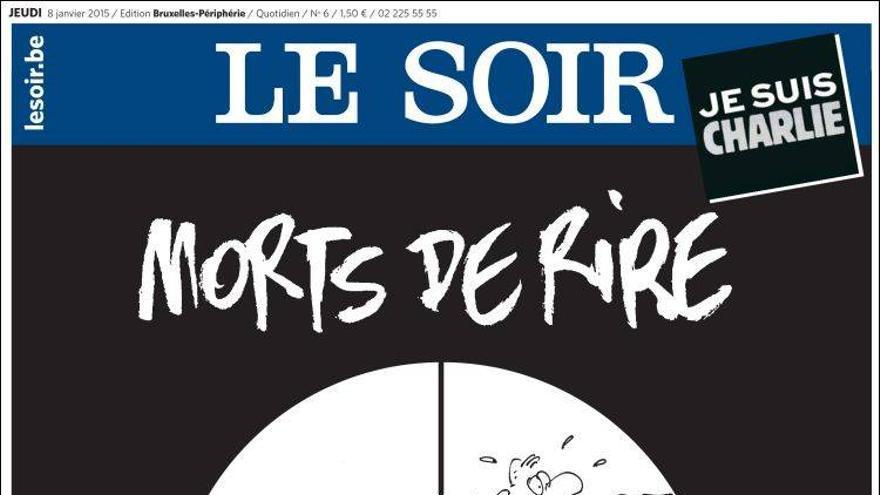'Muertos de risa' - Le Soir (Bélgica)