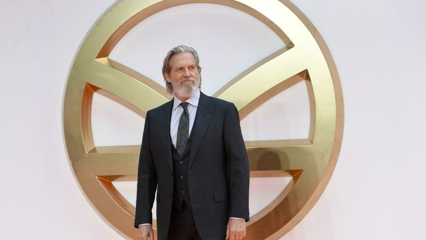 En la imagen, el actor estadounidense Jeff Bridges.