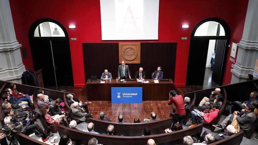 """Apertura del VIII Congreso Internacional """"Democracia y Territorio, 40 años de ayuntamientos y autonomías de España"""""""