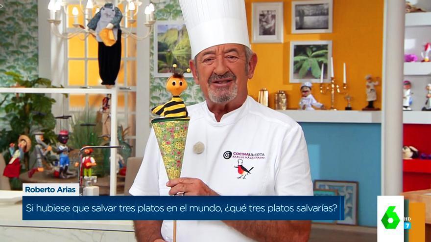 Karlos Arguiñano en 'Zapeando'