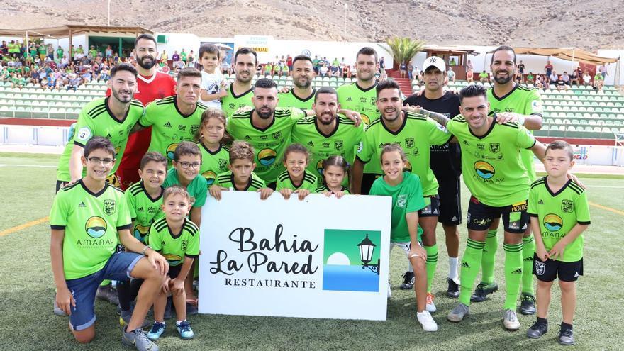 Formación del Gran Tarajal frente al Atlético Tacoronte