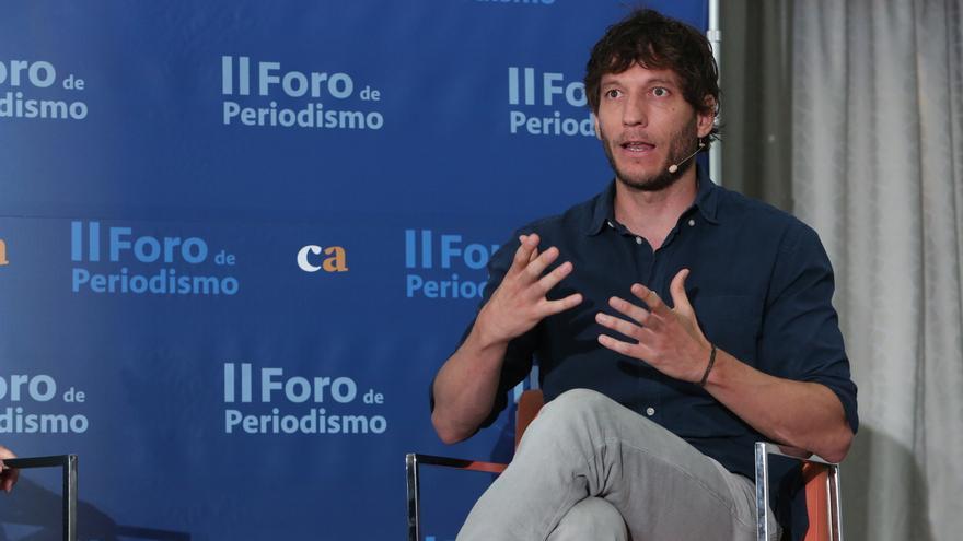 Pablo Linde. (ALEJANDRO RAMOS)