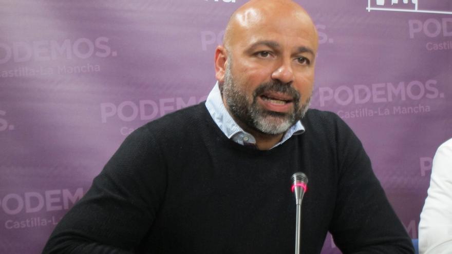 """Podemos C-LM pide al diputado regional que pidió hacer autocrítica que no se arrugue y sea """"valiente"""""""