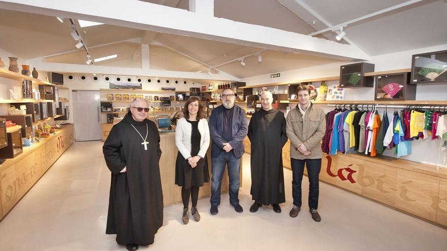 Inaugurado el centro de recepción de visitantes del monasterio de Leyre