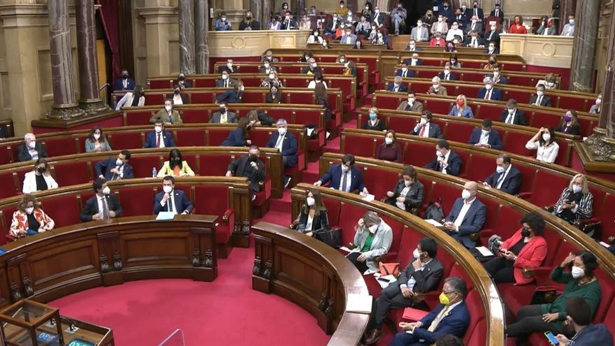 Pleno del Parlament de Catalunya (Archivo)