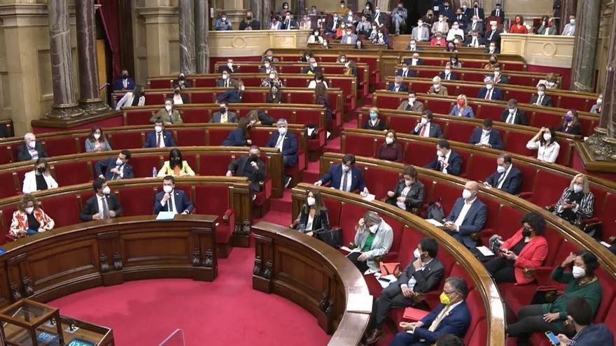 Pleno del Parlament de Catalunya (Archivo)