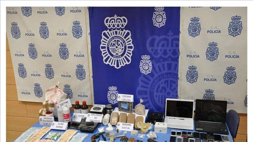 Veinte detenidos en Asturias y Galicia e incautados de 3,2 kilos de heroína