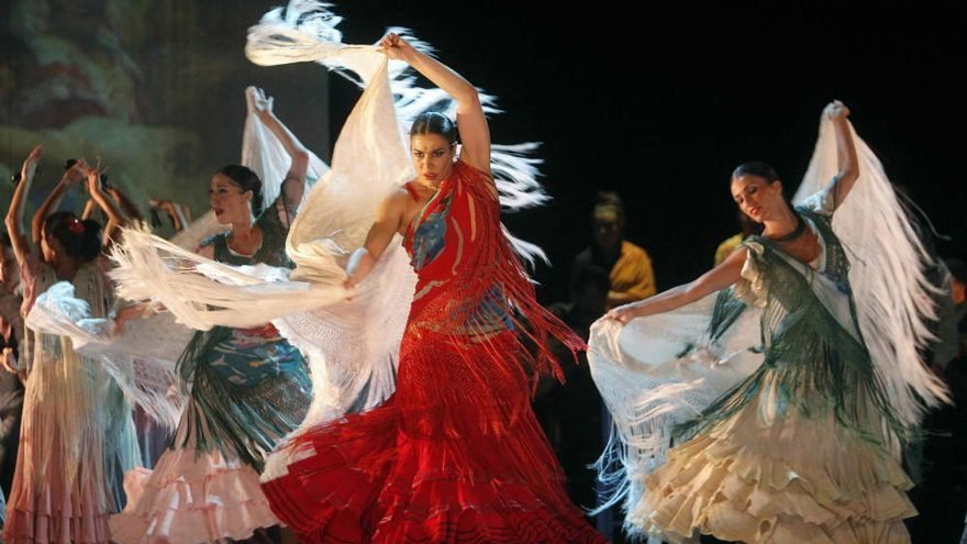El Ballet Nacional de España representando 'Sorolla'