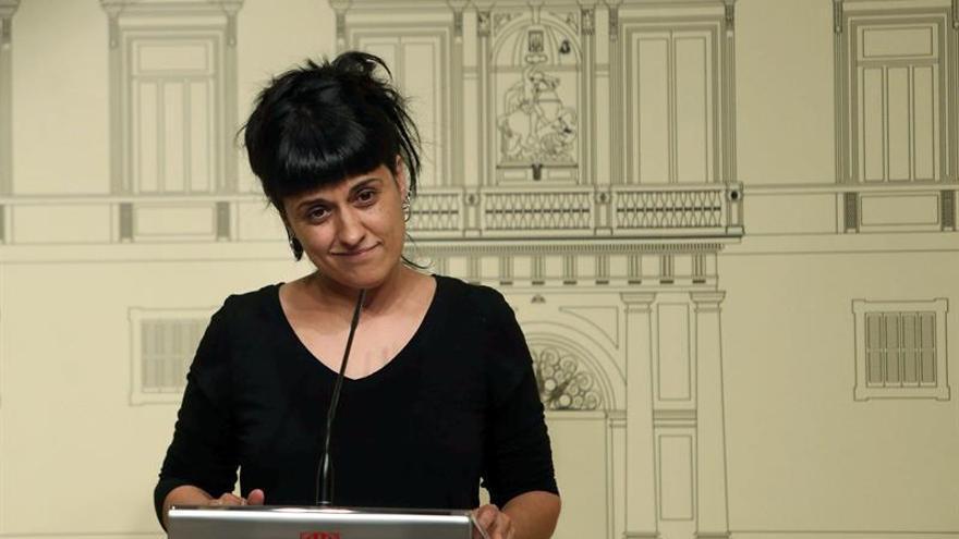 """Anna Gabriel: Ley del Referéndum tiene que ser aprobada """"pese a las amenazas"""""""