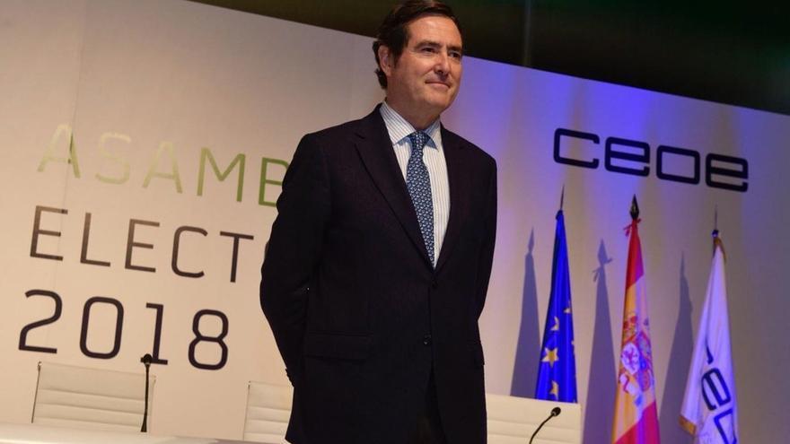 """Garamendi dará más peso a la mujer en CEOE y reprocha al Gobierno medidas """"unilaterales"""" como el SMI"""