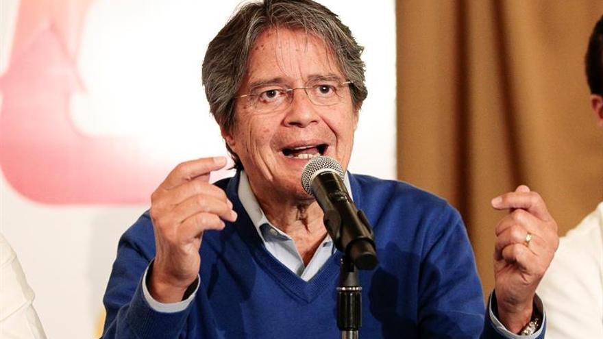 El candidato opositor impugna los resultados de las elecciones en Ecuador
