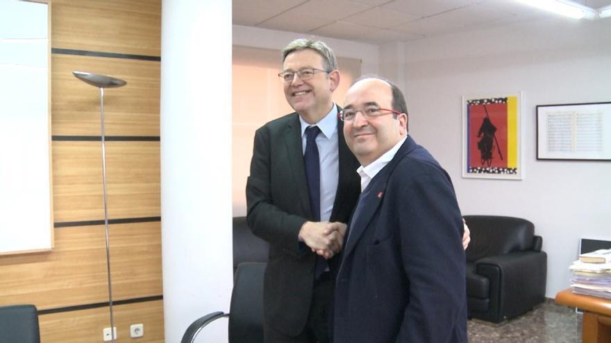 """Puig e Iceta reclaman que se abra """"ya"""" el proceso para iniciar la reforma de la Constitución"""
