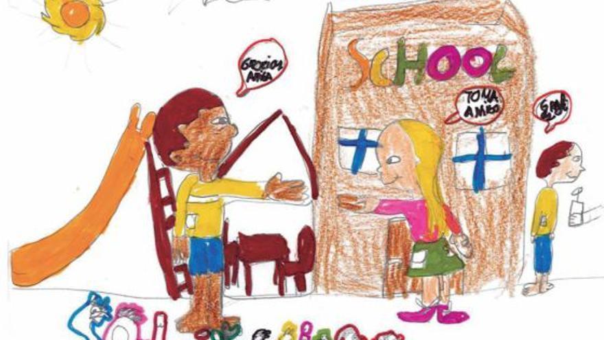 Dibujo del proyecto 'Yo cuento' de Unicef