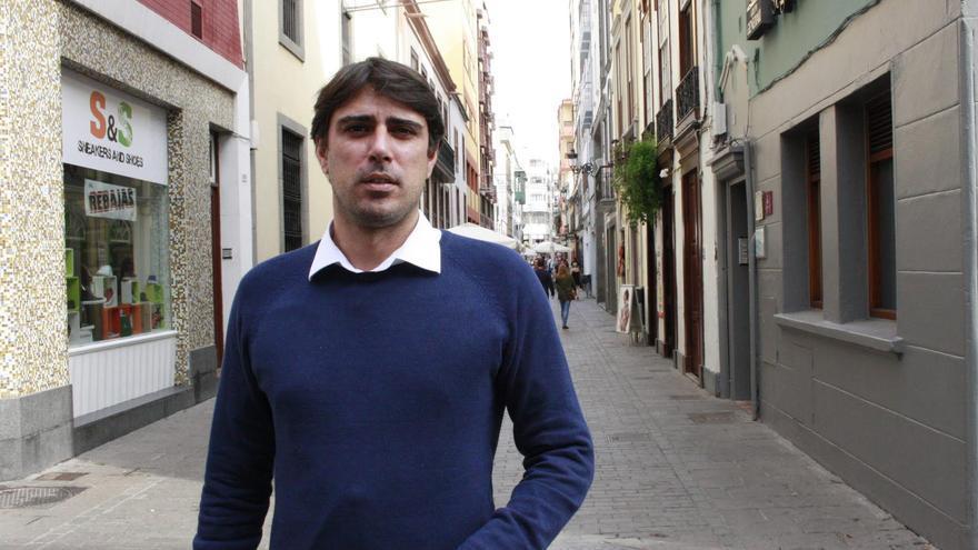 Manuel Abrante, concejal de Infraestructuras y Servicios Públicos de Santa Cruz de La Palma.