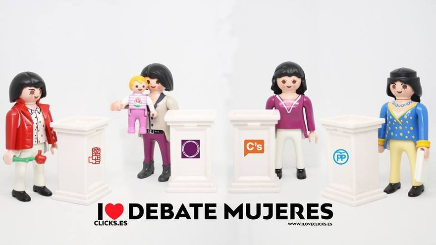 I love debate mujeres