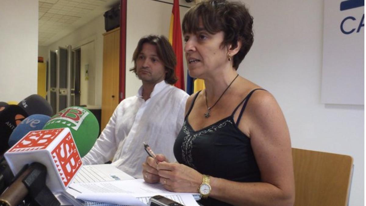 María José Blanco en una imagen de archivo. EUROPA PRESS