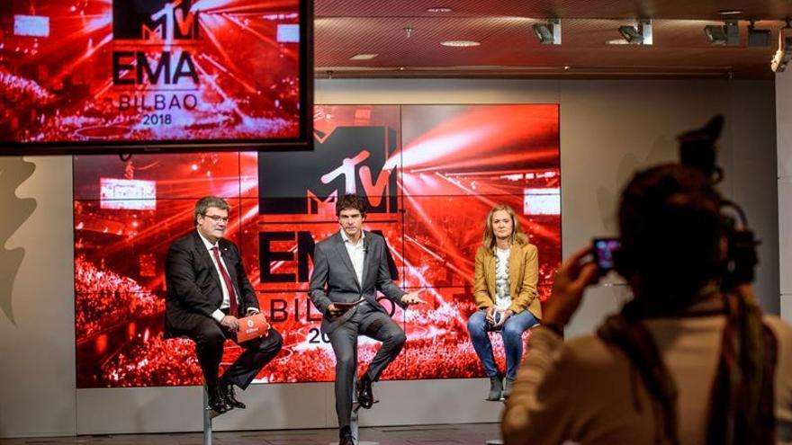 Los premios MTV 2018 en Bizkaia tendrán un impacto de 44 millones de euros