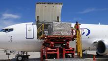 Canarias recibe un nuevo cargamento de material sanitario