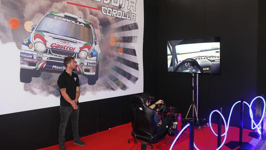 Simulador del WRC de Corolla