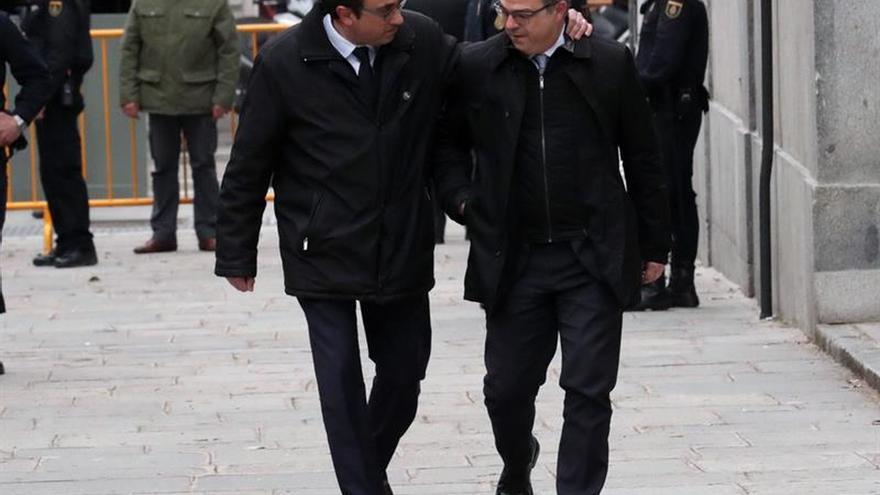 Exconsellers presos Turull, Forn y Rull comienzan mañana su traslado a Cataluña