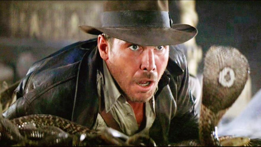 Harrison Ford en 'En busca del arca perdida'