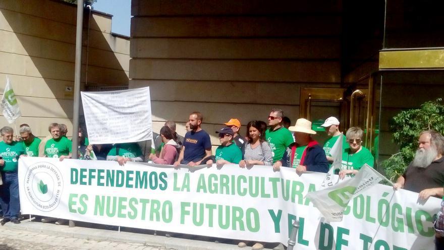 Concentración de la Plataforma en Defensa de la Agricultura Ecológica