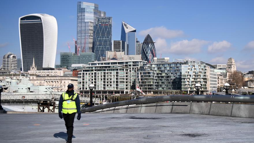 El PIB británico creció el 0,4 % en febrero