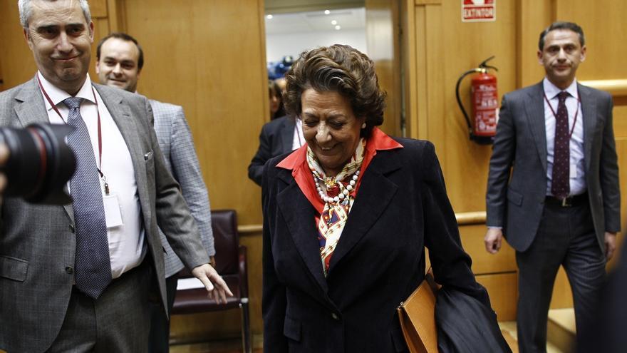 Barberá vuelve al Senado y asistirá al último Pleno previsto de la legislatura