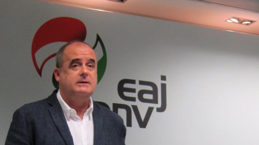"""Egibar (PNV) cree que """"se va a abrir un proceso negociador sobre la base de lo que el parlamento catalán proponga"""""""