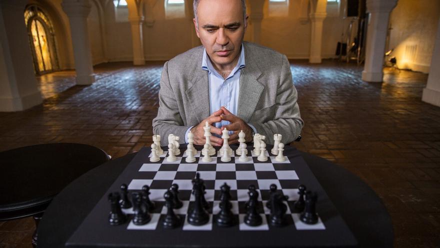 Gary Kasparov, en una imagen promocional de MasterClass