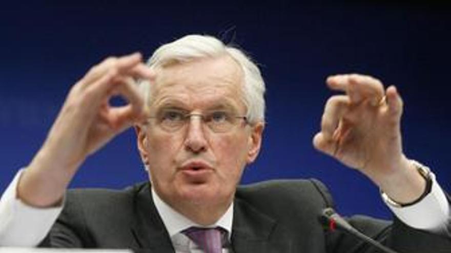 Comisario de Mercado Interior de la UE, Michel Barner