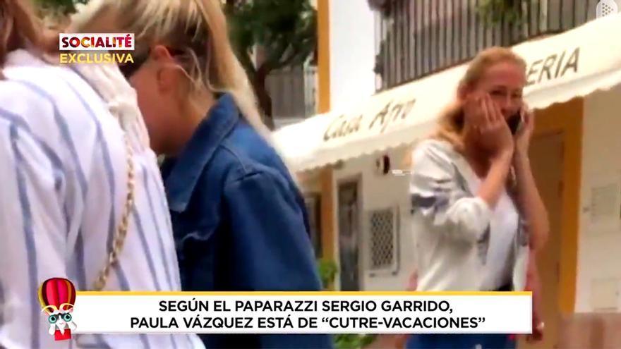 """Telecinco intenta ridiculizar las vacaciones de Paula Vázquez en Ibiza: """"Muy cutre"""""""