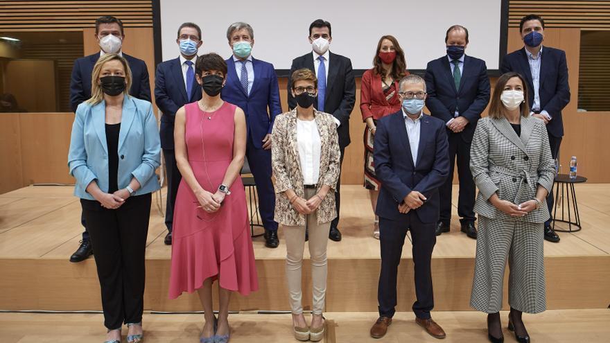 Encuentro estatal de Corporaciones Públicas, en Pamplona.