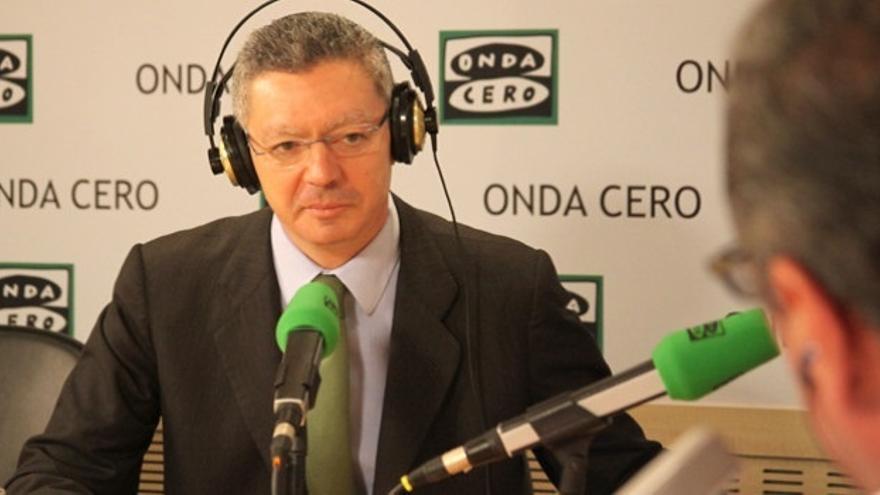Gallardón defiende las sanciones por vía administrativa, que agilizarán el funcionamiento del Estado