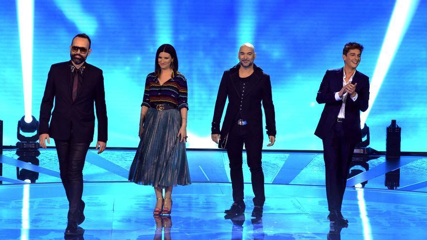 Los cuatro jueces de Factor X en Telecinco