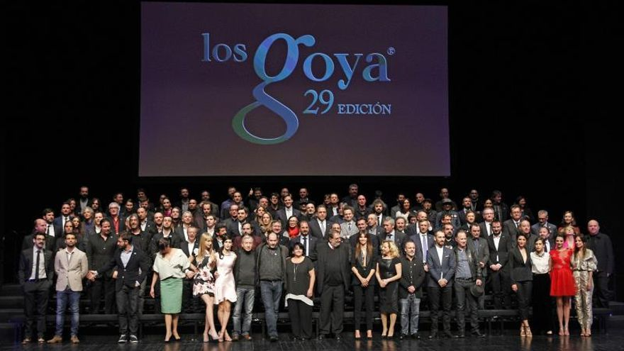 """Los nominados a los Goya celebran el """"maravilloso"""" año del cine español"""