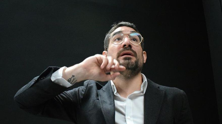El artista español Solimán López.