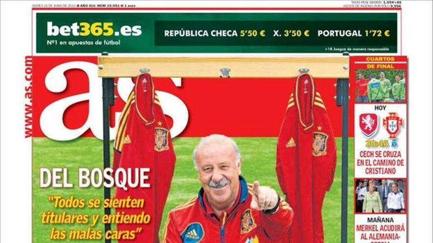 De las portadas del día (21/06/2012) #12