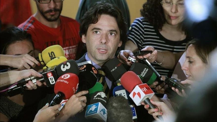 El concejal de Participación Ciudadana y Transparencia del PP en el Ayuntamiento de Madrid, Percival Manglano.