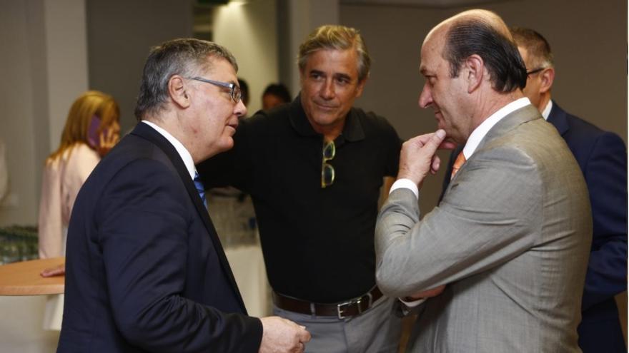 Berdi Pérez durante el acto de balance de la temporada 2015/16 y presentación 2016/17.