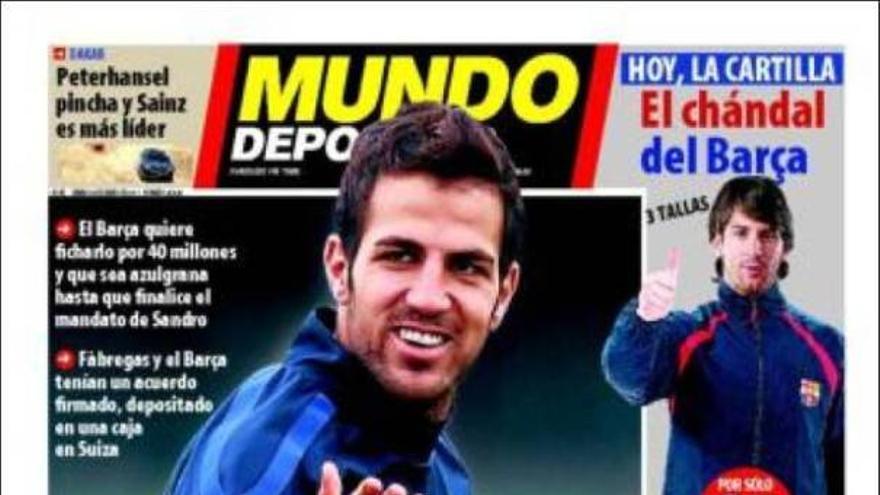 De las portadas del día (08/01/2011) #15