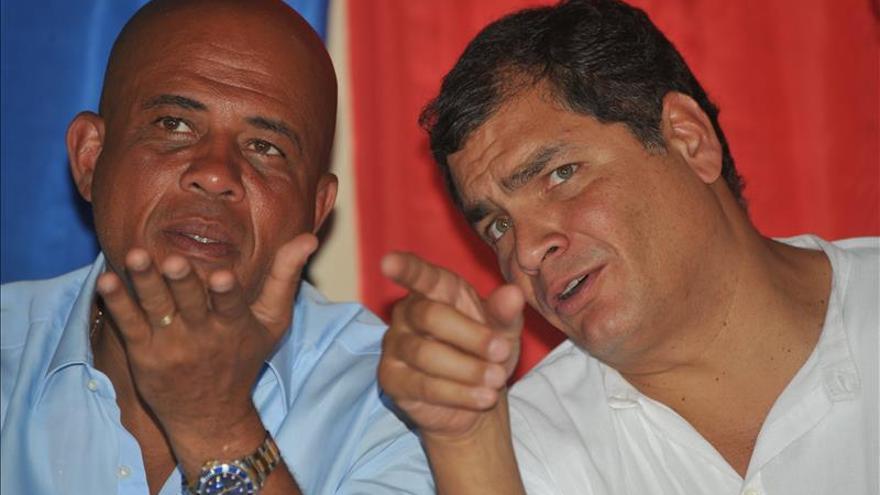 Ecuador y Haití reforzarán su cooperación con una visita de Martelly a Quito